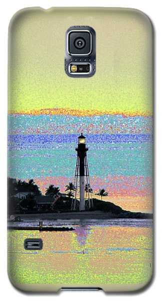 Luminous Florida Yellow At Hillsboro Lighthouse Galaxy S5 Case