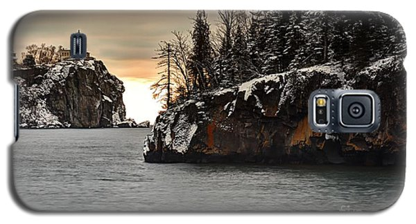 Lighthouse And Island At Dawn Galaxy S5 Case