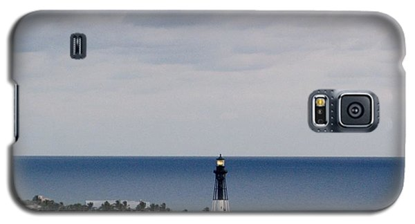 Lighthouse And Rain Clouds Galaxy S5 Case