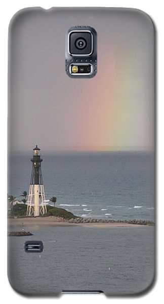 Lighthouse And Rainbow Galaxy S5 Case