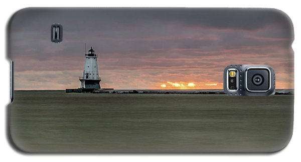 Lighthouse And Sunset Galaxy S5 Case
