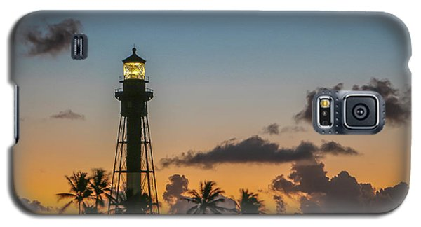 Lighthouse At Dawn #1 Galaxy S5 Case