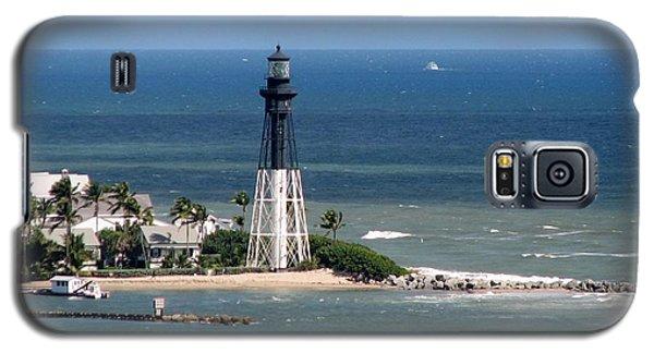 Lighthouse At Hillsboro Beach, Florida Galaxy S5 Case