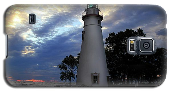 Lighthouse At Sunrise Galaxy S5 Case