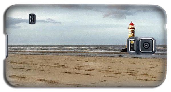 Lighthouse At Talacre Galaxy S5 Case