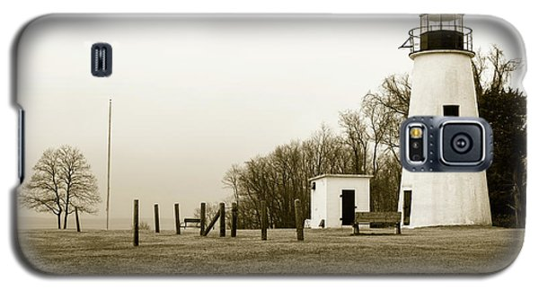 Lighthouse At Turkey Point Galaxy S5 Case