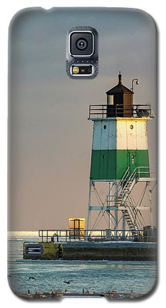Lighthouse In The Sunset Galaxy S5 Case