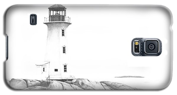 Lighthouse Of Peggy's Cove Galaxy S5 Case