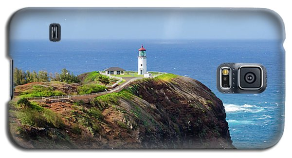 Lighthouse On A Cliff Galaxy S5 Case