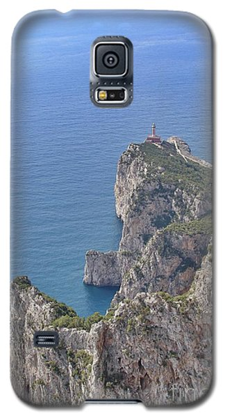 Lighthouse On The Cliff Galaxy S5 Case