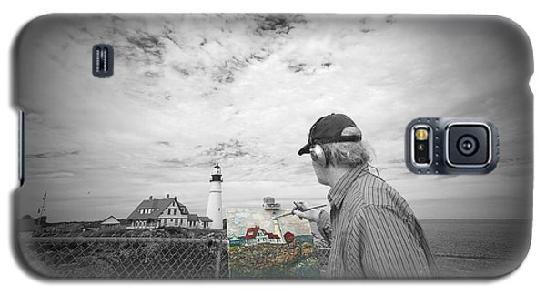 Lighthouse Painter Galaxy S5 Case