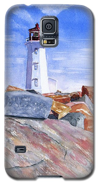 Lighthouse Peggys Cove Galaxy S5 Case