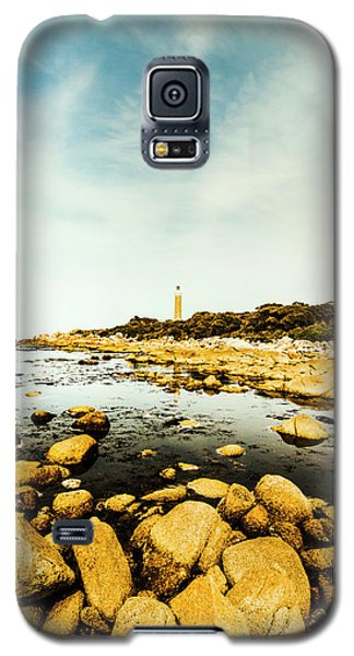Rocky Galaxy S5 Case - Lighthouse Point  by Jorgo Photography - Wall Art Gallery