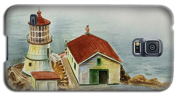 Lighthouse Point Reyes California Galaxy S5 Case