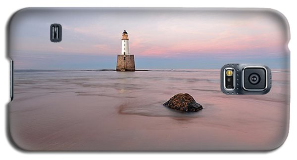 Galaxy S5 Case featuring the photograph Lighthouse Sunset Rattray Head by Grant Glendinning