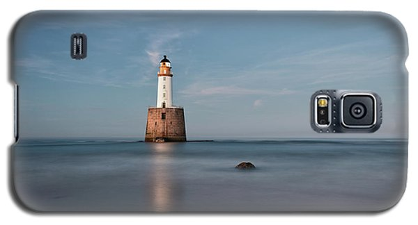 Galaxy S5 Case featuring the photograph Lighthouse Twilight by Grant Glendinning