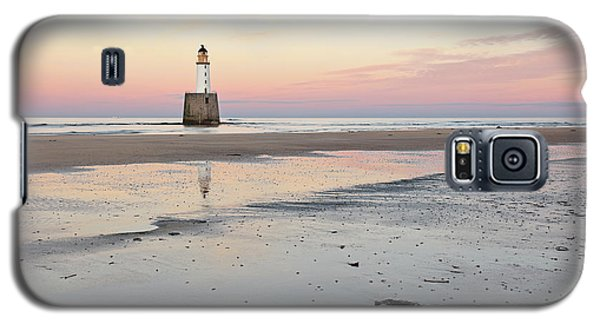 Galaxy S5 Case featuring the photograph Lighthouse Sunset - Rattray Head by Grant Glendinning