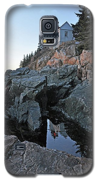 Galaxy S5 Case featuring the photograph Lighthouse Reflection by Glenn Gordon