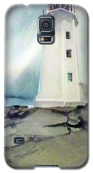 Lighthouse Rock Galaxy S5 Case