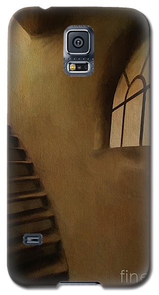Galaxy S5 Case featuring the photograph Lighthouse Stairs by Jim  Hatch
