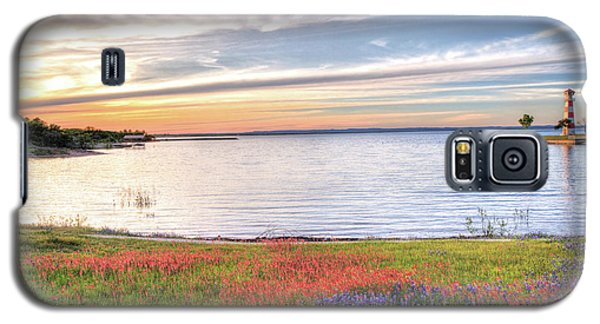 Lighthouse Sunset At Lake Buchanan Galaxy S5 Case