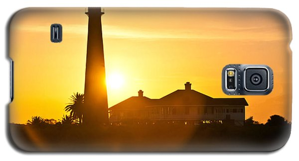 Lighthouse Sunset Galaxy S5 Case