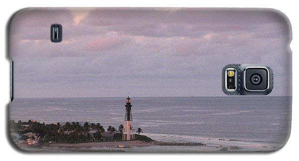 Lighthouse Sunset Peach And Lavender Galaxy S5 Case