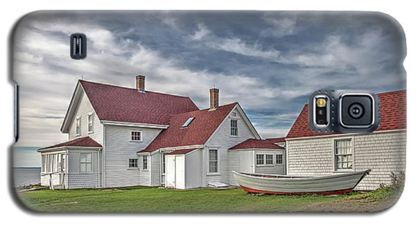 Keepers House At The Monheagn Lighthouse Galaxy S5 Case
