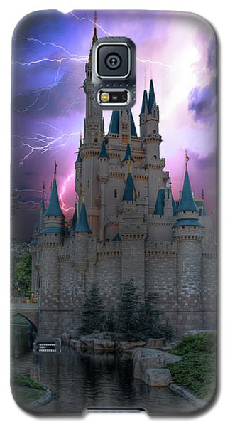 Lighting Over The Castle Galaxy S5 Case