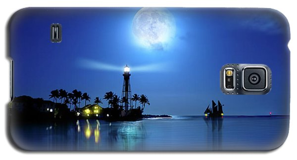 Lighting The Lighthouse Galaxy S5 Case by Mark Andrew Thomas
