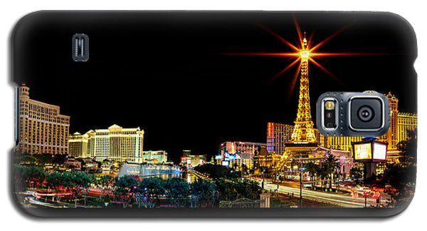 Lighting Up Vegas Galaxy S5 Case