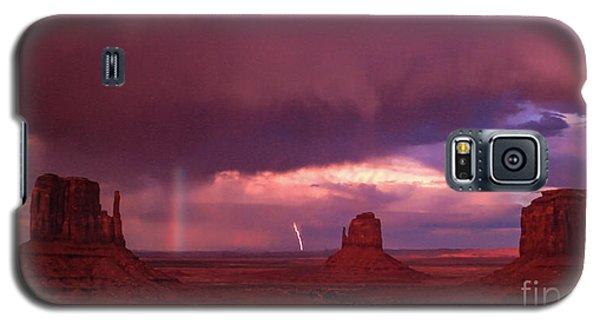 Lightning And Rainbow Galaxy S5 Case