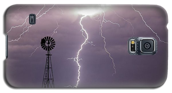 Lightning And Windmill -02 Galaxy S5 Case
