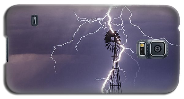 Lightning And Windmill Galaxy S5 Case