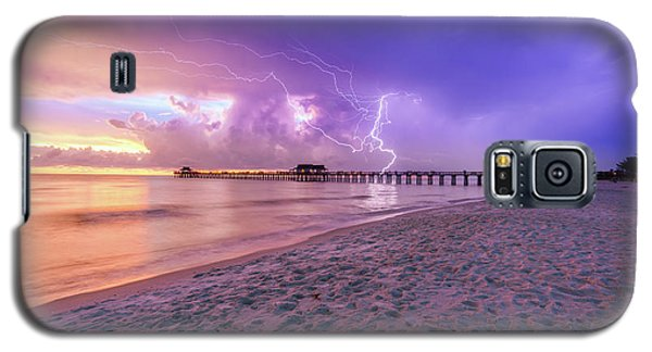Lightning Naples Pier Galaxy S5 Case