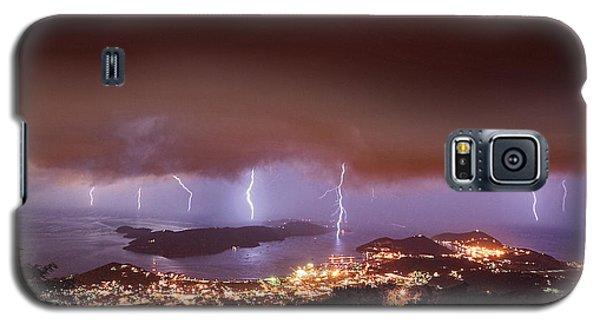Lightning Over Water Island Galaxy S5 Case
