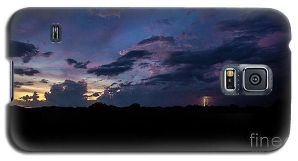 Lightning Sunset Galaxy S5 Case