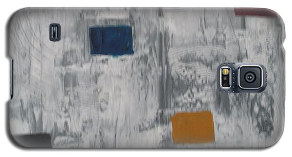 Galaxy S5 Case featuring the painting Lights In A Blizzard by Sharyn Winters
