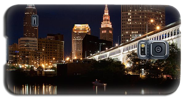 Lights In Cleveland Ohio Galaxy S5 Case