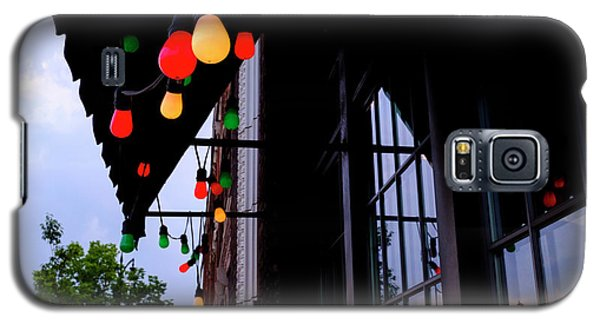 Lights In Corktown In Detroit Michigan Galaxy S5 Case