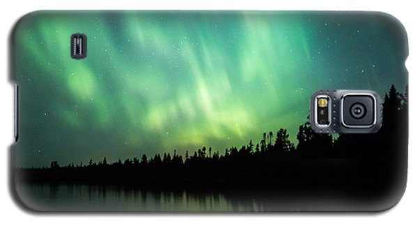 Lights Over Moose Lake Galaxy S5 Case