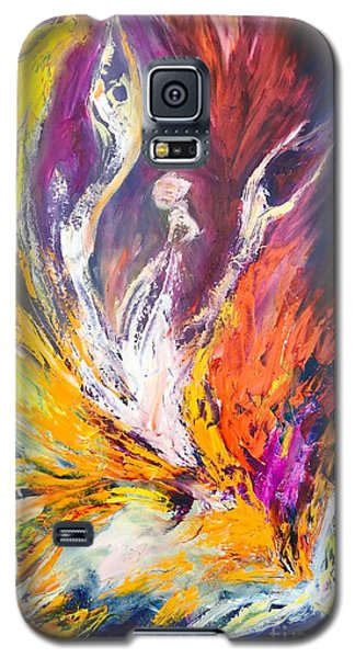 Like Fire In The Wind Galaxy S5 Case by Marat Essex