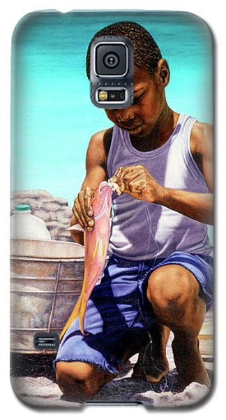 Lil Fisherman Galaxy S5 Case