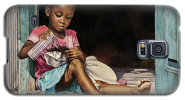 Lil' Hair Braider Galaxy S5 Case