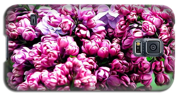 Lilac Blossoms Abstract Soft Effect 1 Galaxy S5 Case