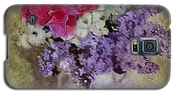 Lilac Bouquet Galaxy S5 Case by Alexis Rotella