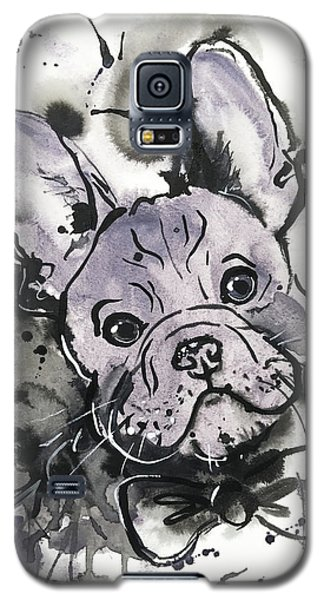 Lilac Frenchie Galaxy S5 Case