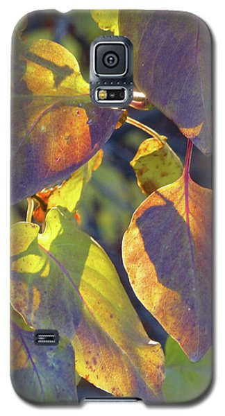 Lilac Leaves Galaxy S5 Case