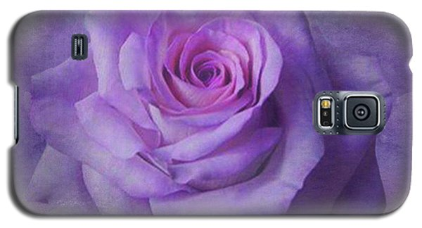 Lilac Purple Rose Galaxy S5 Case