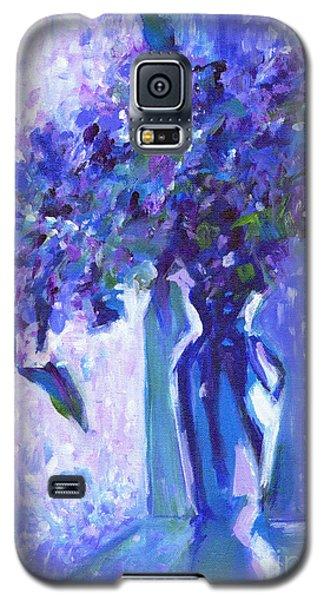 Lilac Rain  Galaxy S5 Case